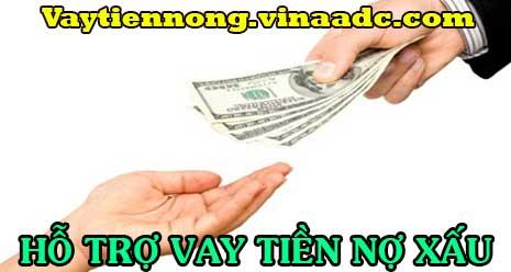 Hỗ trợ nợ xấu vay tiền nhanh nhất trong ngày